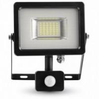SLIM LED REFLEKTOR IP65 20W S SENZORJEM
