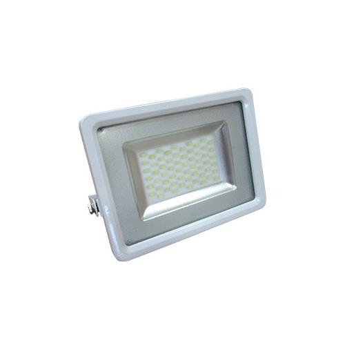 SLIM LED REFLEKTOR 50W IP65, bele barve