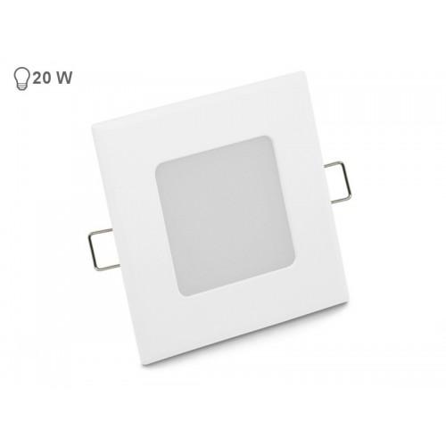 VGRADNI 3W KVADRATEN LED PANEL