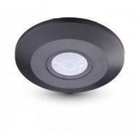 STROPNI NADGRADNI 360° IR SENZOR IP20 črne barve