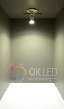Barva LED žarnic - hladno bela