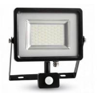 SLIM LED REFLEKTOR IP65 50W S SENZORJEM