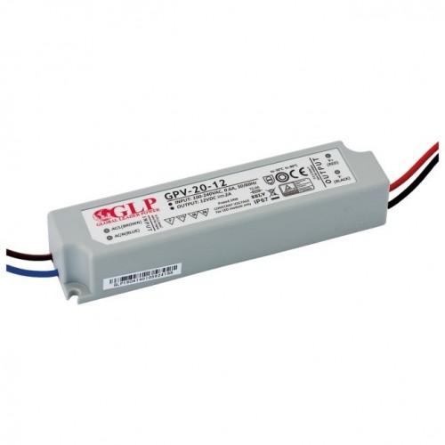 LED NAPAJALNIK GLP 20W 12V IP67