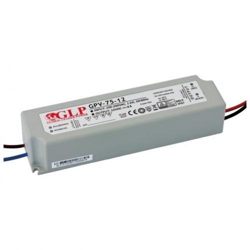 LED NAPAJALNIK GLP 75W 12V IP67