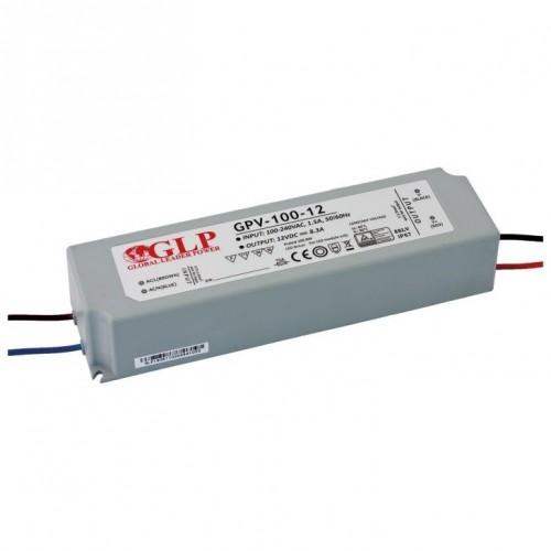 LED NAPAJALNIK GLP 100W 12V IP67